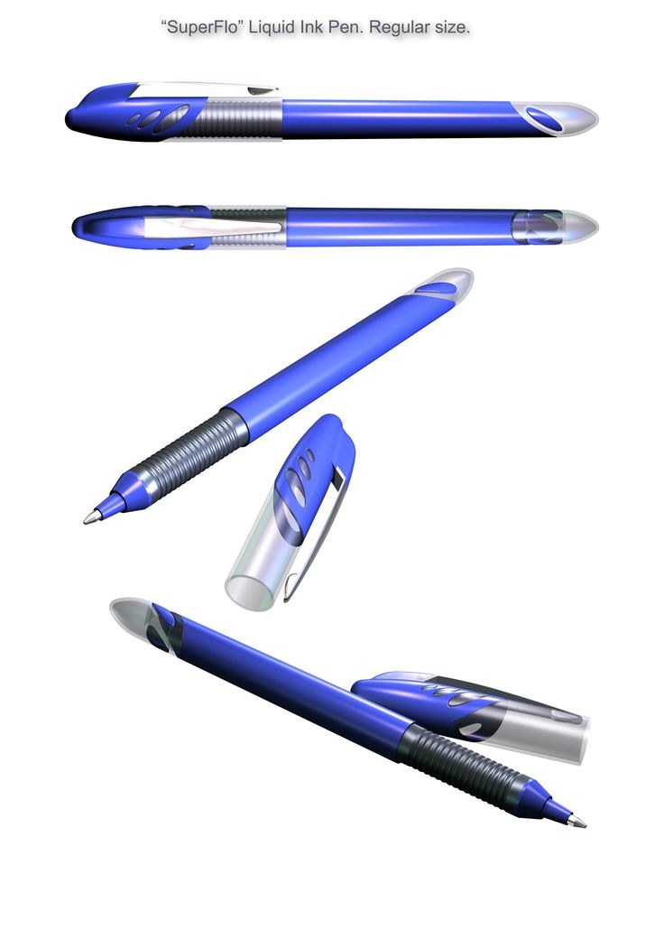 Design of writing instruments at Atus Design, LLC.