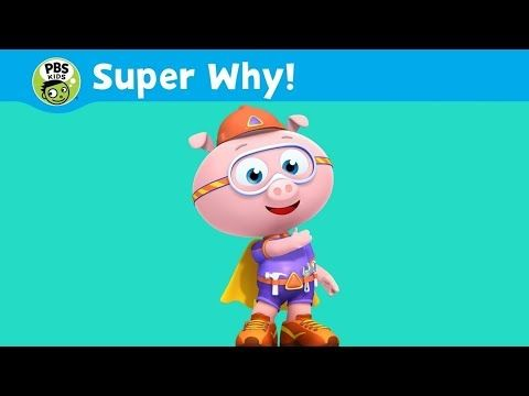 Super Why Episodes - PBS KIDS - Alpha Pig - baby games for kids HD