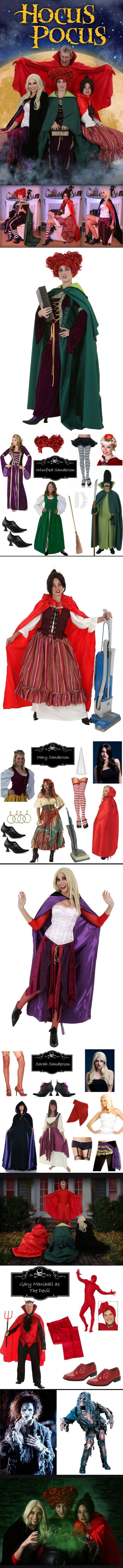 DIY Hocus Pocus Costumes. Hocus Pocus Halloween Party Decorations & Costume Ideas