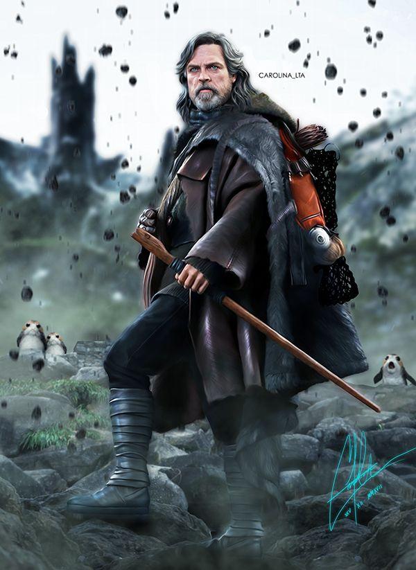 Luke Skywalker on Ahch To | Star Wars: The Last Jedi