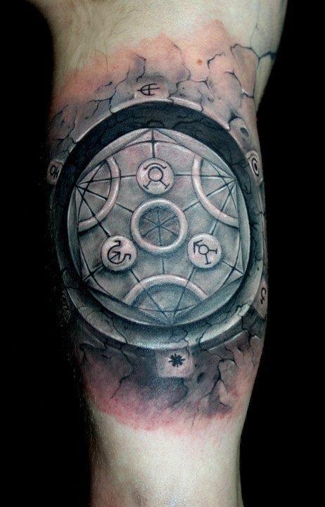 Transmutation Circle Tattoo: 100 Best Transmutation Circle Images On Pinterest