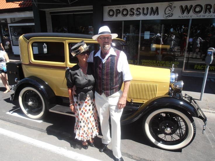 'Buttercup' Art Deco Weekend Napier NZ