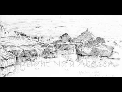 Video of Sketching in Ilulissat - Art Exhibition project by Naja Abelsen
