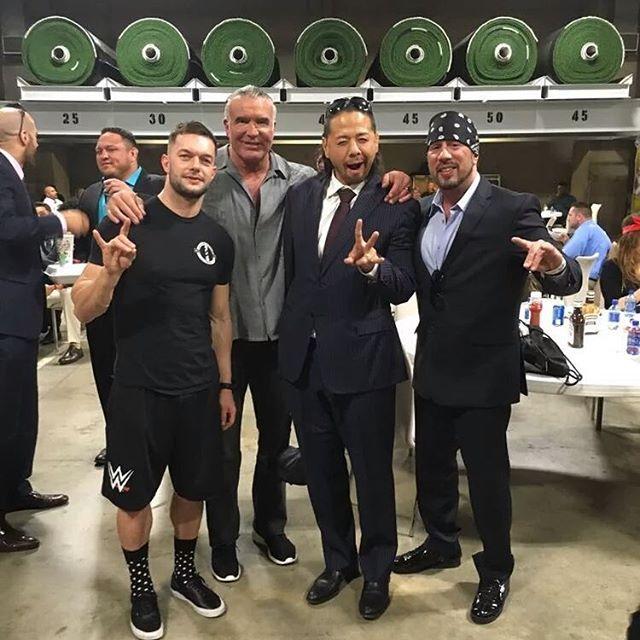 Cesaro, Samoa Joe, Finn Balor, Razor Ramon, Shinsuke Nakamura & X-Pac #WWE