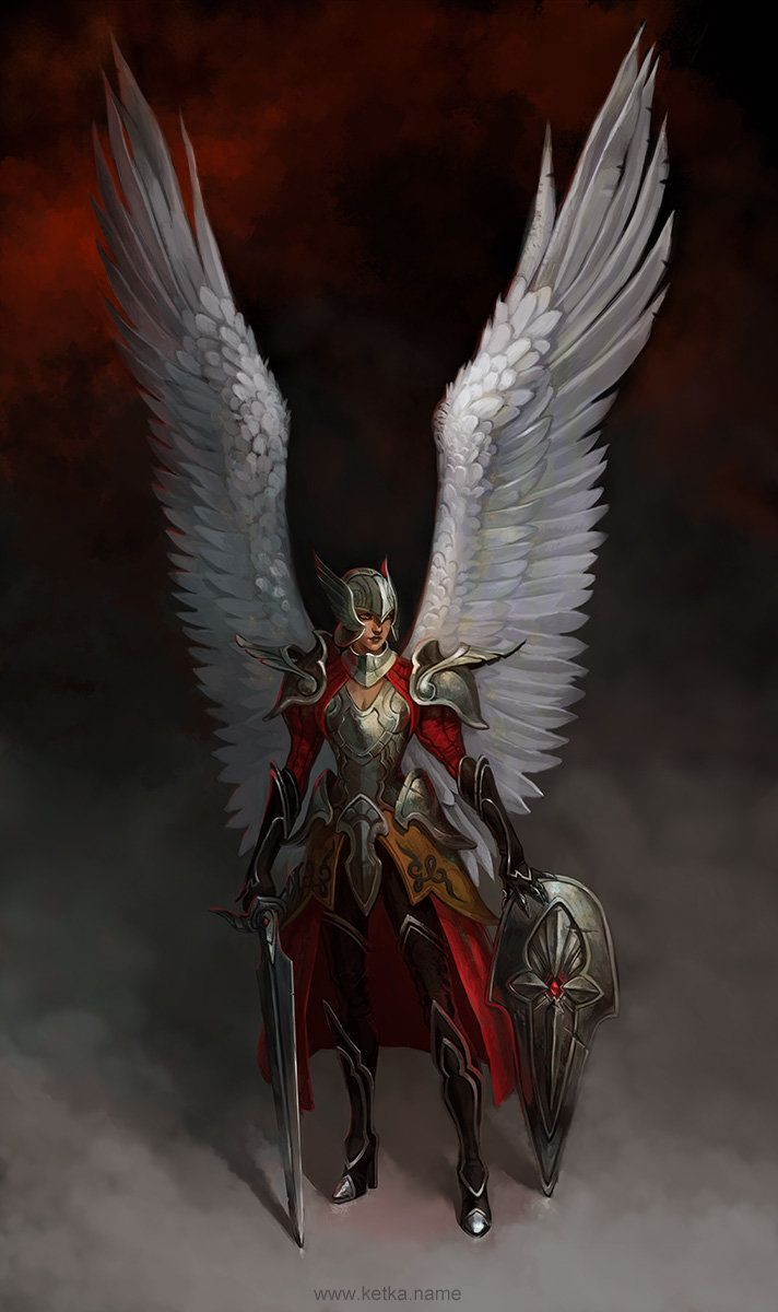 Angel, Maria Trepalina on ArtStation at https://www.artstation.com/artwork/angel-89e3da40-8267-466a-b78b-eeecba7fd091