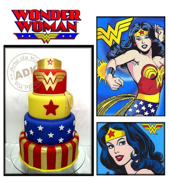 Cake wonder woman