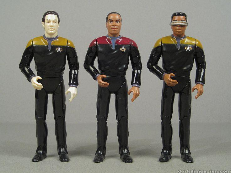 Dork Dimension: Toy Tribute: Star Trek Deep Space 9 Crew (Playmates)