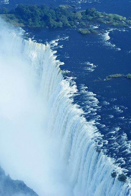 A must-see: as one of the seven world wonders the Victoria Falls are right around the corner / Zimbabwe
