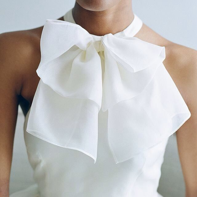 ZsaZsa Bellagio | Pretty Halter Top and Ruffle Bow ~