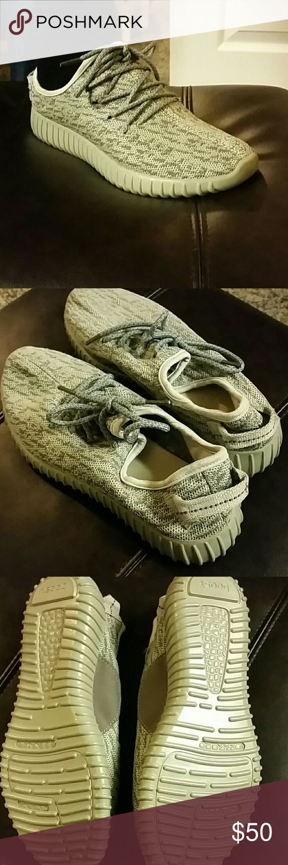 Boost shoes Excellent condition, never worn Boost Shoes Athletic Shoes