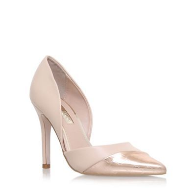 Miss KG Natural 'Caitlyn' high heel court shoes | Debenhams