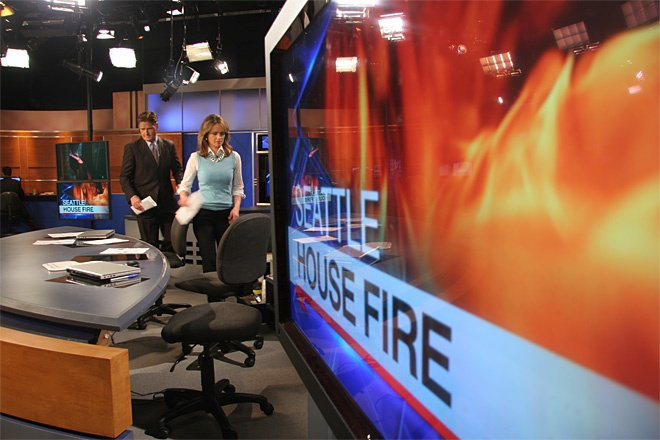Go behind the scenes with the KOMO 4 Morning News team! More photos: http://bit.ly/IK0O2S.News Team, Mornings News