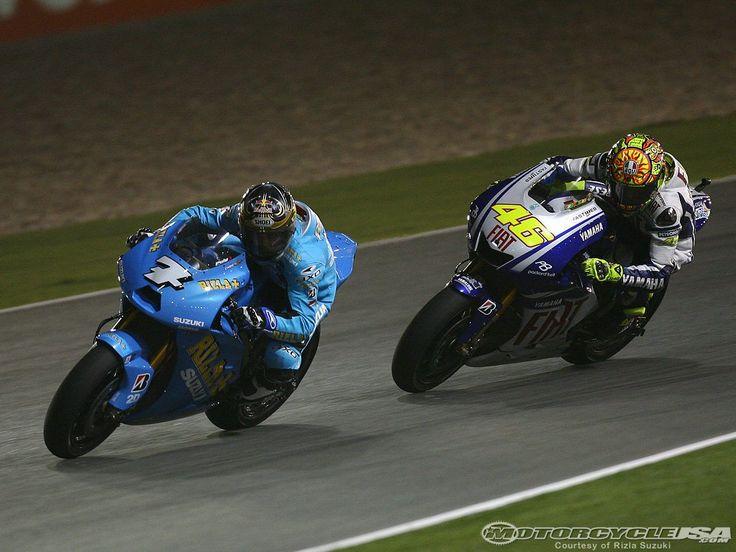 Qatar 2009, John Hopkins and Valentino Rossi