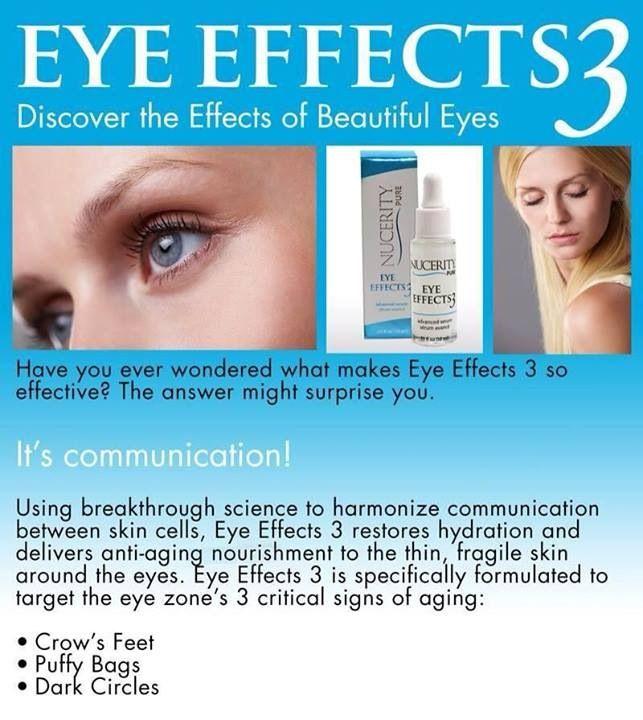Eye Effects - Order Online 24/7   http://love.mynucerity.biz/nuau/