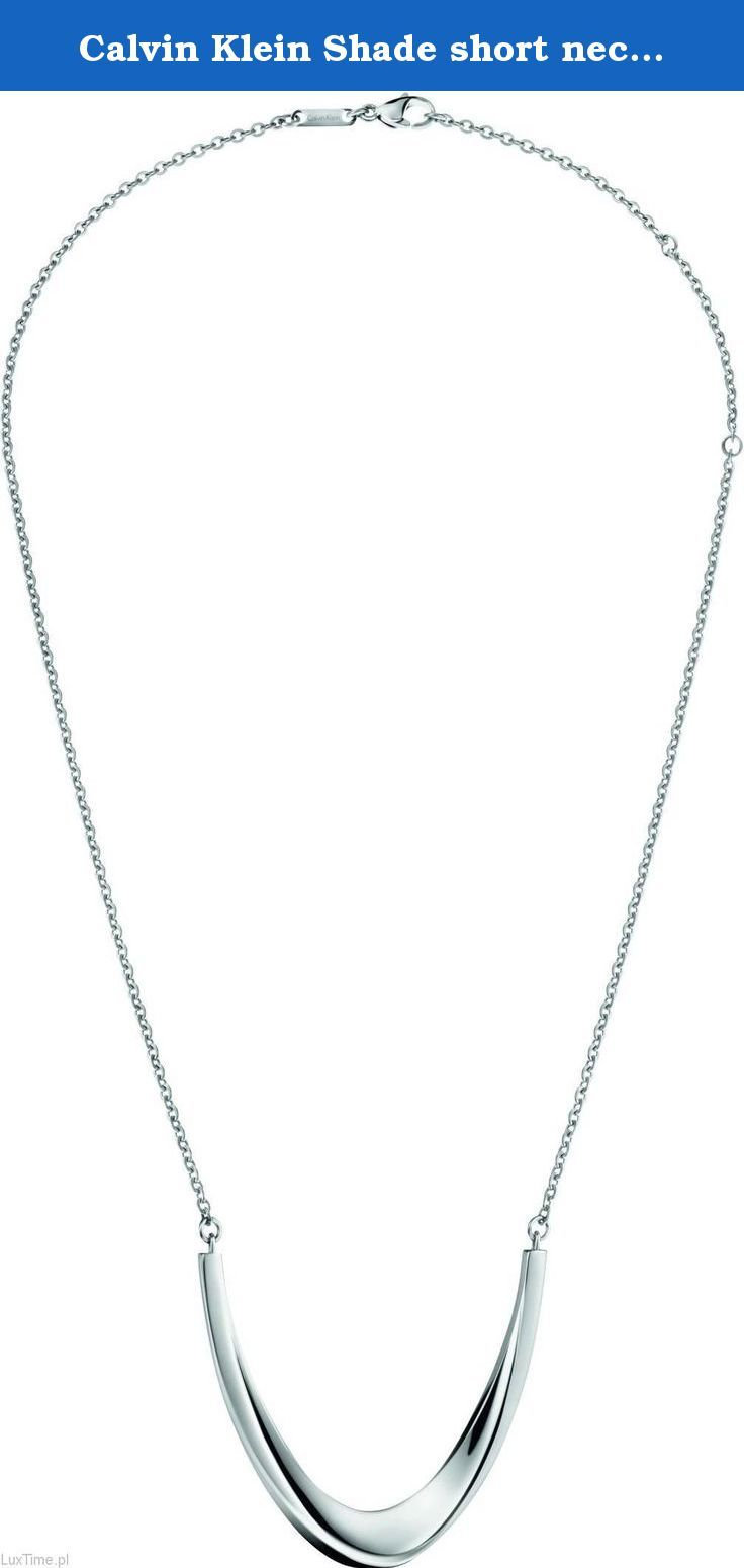 Calvin Klein Shade short necklace KJ3YMN000100. Type: Anchor Chain, Material: Stainless steel, Length: 41 cm - 50 cm, Colour: Silver, Pendant: Oval, Clasp: carbine Type: Anchor Chain, Material: Stainless steel, Length: 41 cm - 50 cm, Color: Silver, Target Group: Ladies, Pendant: Oval, Clasp: carbine Type: Anchor Chain, Material: Stainless steel, Length: 41 cm - 50 cm, Color: Silver, Target Group: Ladies, Pendant: Oval, Clasp: carbine.
