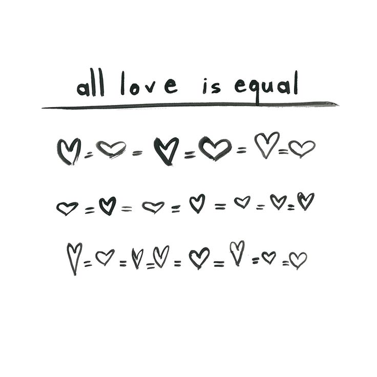 All love is equal ❥