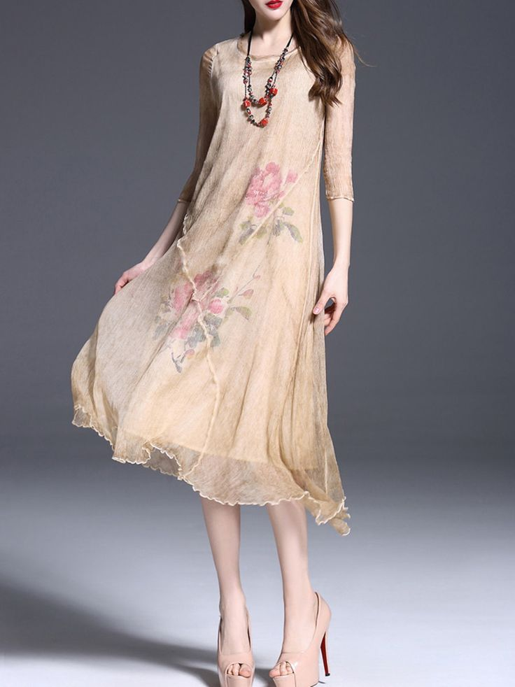 https://www.stylewe.com/product/vintage-half-sleeve-asymmetric-midi-dress-28734.html