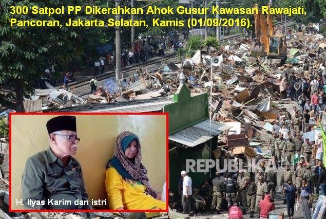 Tak Cuma Digusur Pak Ilyas Juga DIFITNAH Sudah Dapat Ganti Apartemen di Kalibata  [portalpiyungan.com] JAKARTA - Salah satu yang jadi korban penggusuran gubernur dzolim DKI di kawasan Rawajati Jakarta Selatan pada Kamis (1/9) kemarin adalah pak lyas Karim (88). Pak Ilyas Karim adalah seorang pejuang berpangkat Letnan Kolonel (Letkol) Purnawirawan yang masa mudanya ikut membawa bambu runcing melawan penjajahan di Indonesia. Namun kini tempat tinggalnya menghabiskan masa tuanya yang berada di…