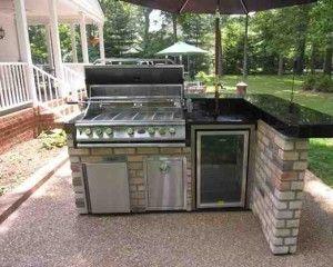 Minimalist Kitchen Design in Home Exterior | Desain Dapur Minimalis di Bagian Luar Rumah