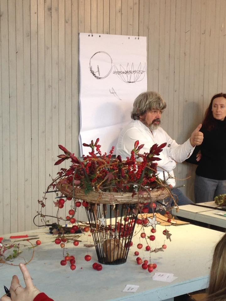 Итак семинар Gregor Lersch! В потрясающем месте фамильном саду Lersch
