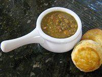Ham and Lentil Soup Recipe, Slow Cooker