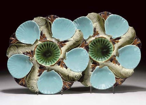 majolica oyster plates & 19 best majolica \u0026 oyster plates images on Pinterest