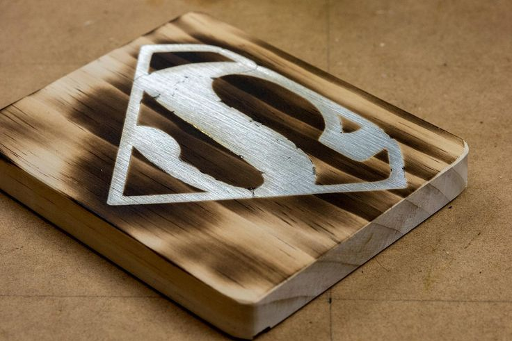 You can create a cool metal inlay effect in wood with solder. This technique is perfect for signage!