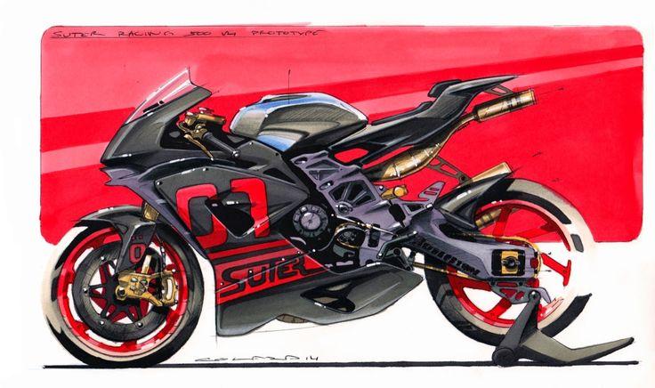 Suter Racing 580cc 2-stroke race bike