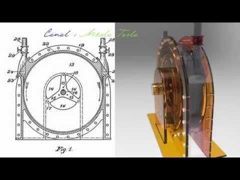 102 - Turbina de Tesla descrita por el propio Tesla* - Versión en español - Patente 1061206 - YouTube