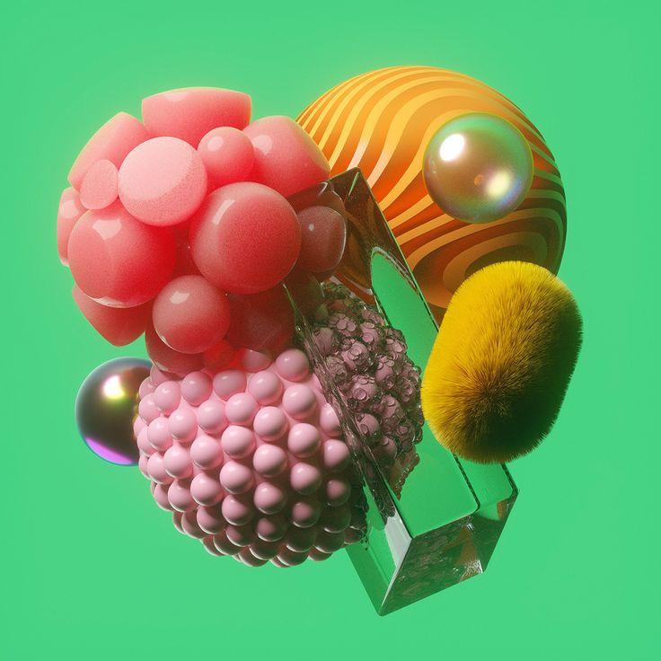 신기한 3D 물리예술 - David McLeod :: MIXED ART