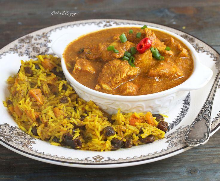 Курица по-индийски в соусе корма | Рецепты правильного питания - Эстер Слезингер
