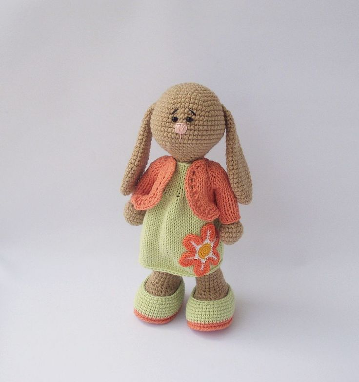 Amigurumi Bunny Girl : 184 best images about knit and crochet animals on Pinterest