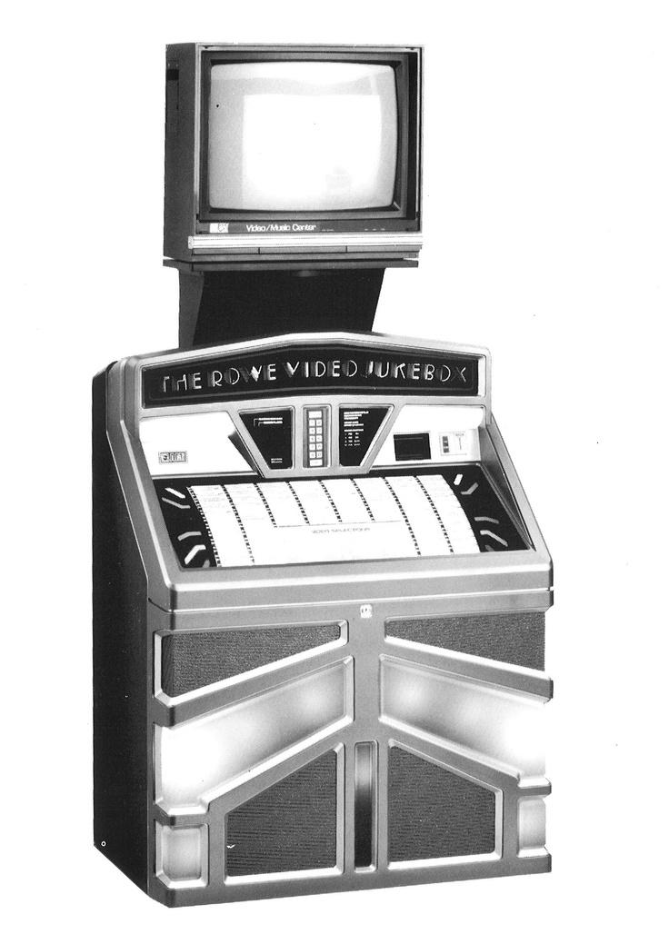 1988, Rowe-AMI's Model R-92 Video Jukebox [Jukebox Collector]: Rowe Amy Models, Amy Jukebox, Jukebox Jukebox, Row Amy Models, Videos Jukebox, Models R92, Jukebox Collector, Roweami Models, Models R 92