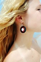 Summer Shiva Eye Earrings from Bali