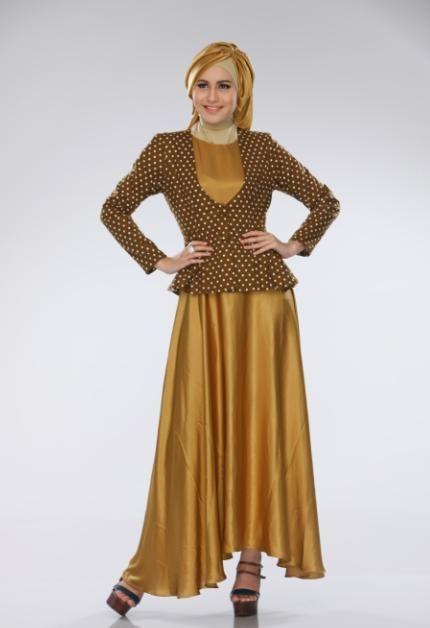 Warna Gold yang mewah dan cantik ini pasti keren banget kamu pakai ke pesta sist,, yukk order sekarang