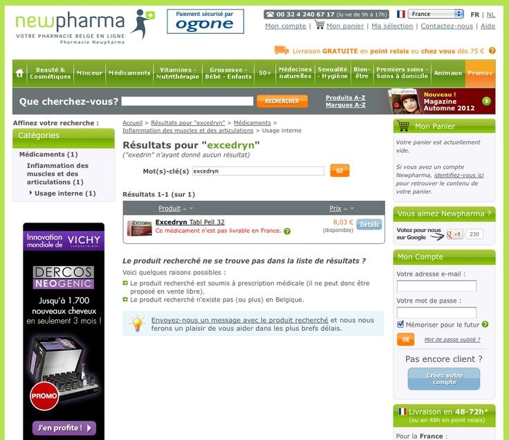 Le secteur de la pharmacie est désormais ouvert au commerce électronique en France. Aux pharmaciens désireux de vendre des médicaments et de la parapharmacie en ligne, Antidot propose sa solution  AFS@Store, organisée autour d'un moteur de recherche interne qui équipe déjà les plus grands sites marchands. AFS@Store équipe notamment la pharmacie en ligne belge Newpharma – www.newpharma.be, www.newpharma.fr et www.newpharma.nl - qui a connu en 2012 une croissance de plus de 70% de son…
