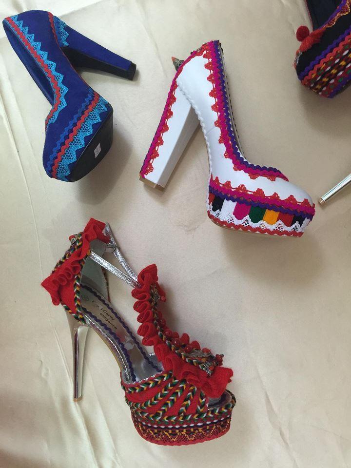 Chaussure à talon haut ~Berbère~