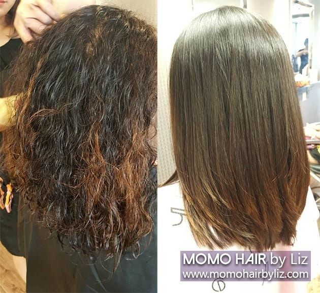 Japanese Hair Straightening Picture Gallery | momo hair - Toronto