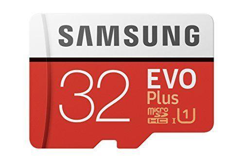 Samsung MB-MC32GA/EU Carte mémoire MicroSD Evo Plus 32G avec adaptateur SD: Carte microSD Idéal pour utilisation dans les smartphones,…