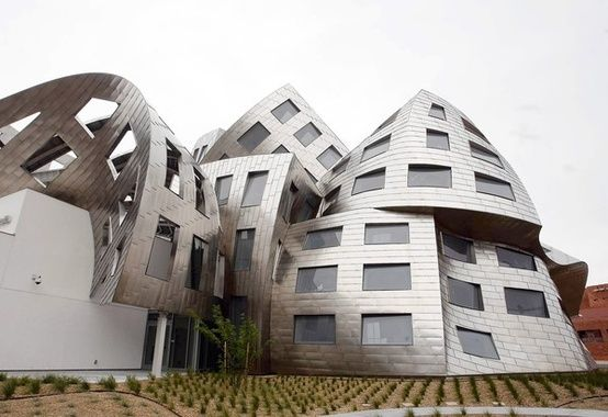 Cleveland Clinic Lou Ruvo Center / Frank Gehry #arkitektur #architecture