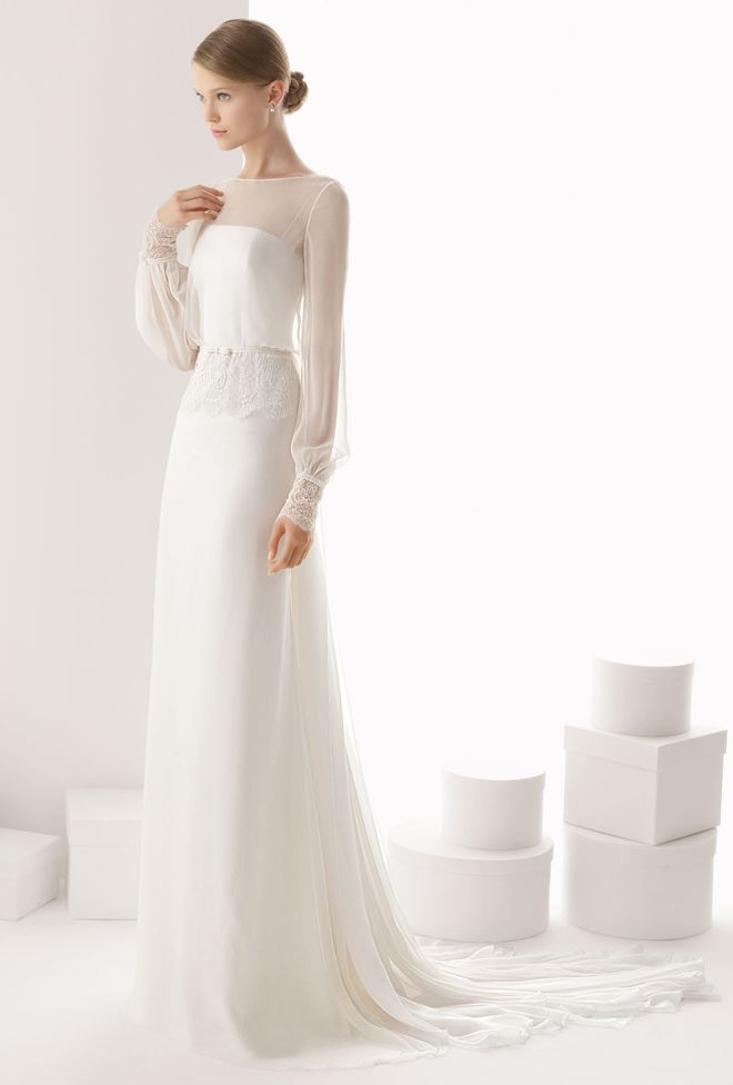 Rosa Clara 2014 Bridal Collection - Belle the Magazine . The Wedding Blog For The Sophisticated Bride
