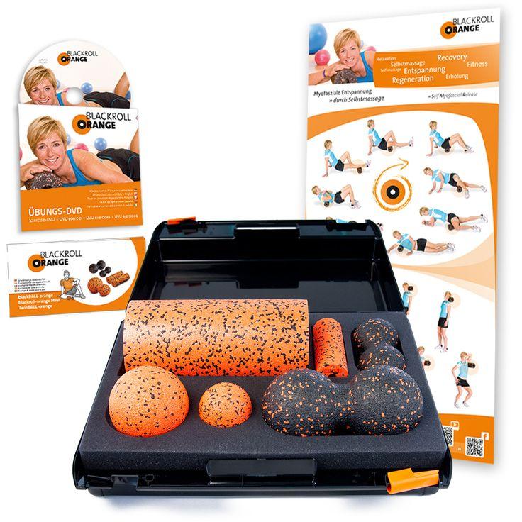 Blackroll Orange SMR-SET PRO