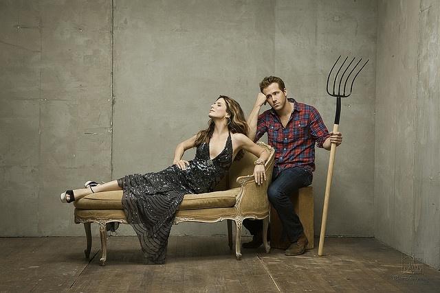 Sandra Bullock - The Proposal, this photo just makes me laugh.