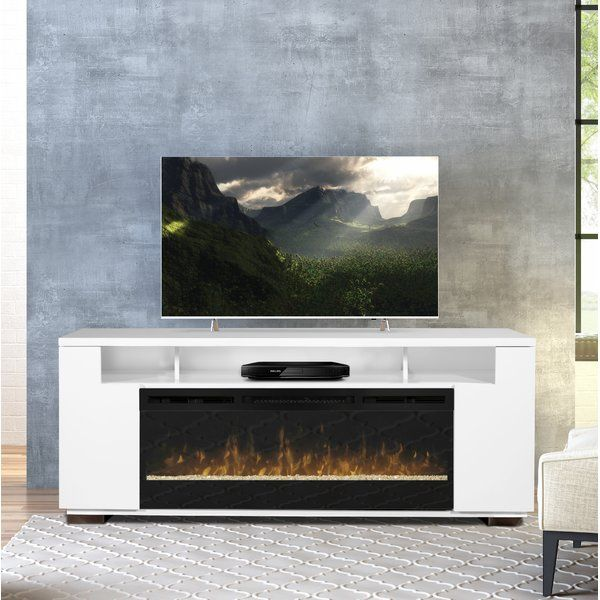 Barnett Tv Stand For Tvs Up To 85 With Fireplace Included