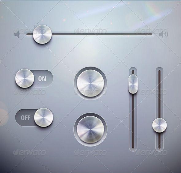 UI Elements - GraphicRiver Item for Sale