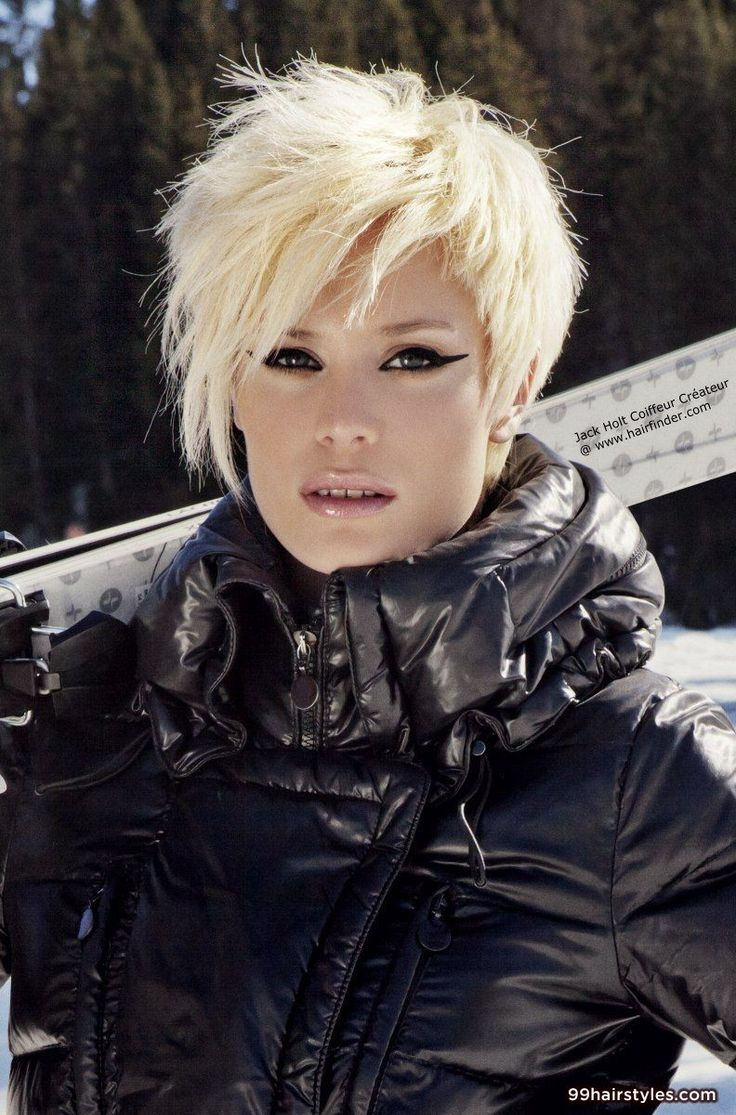 beautiful short blonde hairstyle - 99 Hairstyles Ideas