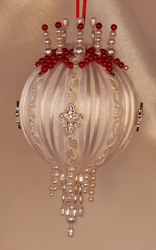 Angelina Jolie Red Carpet 2012 Victorian Style Christmas Tree Ornament