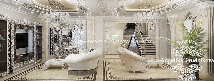Американский стиль в интерьере дома в Лазаревском - фото