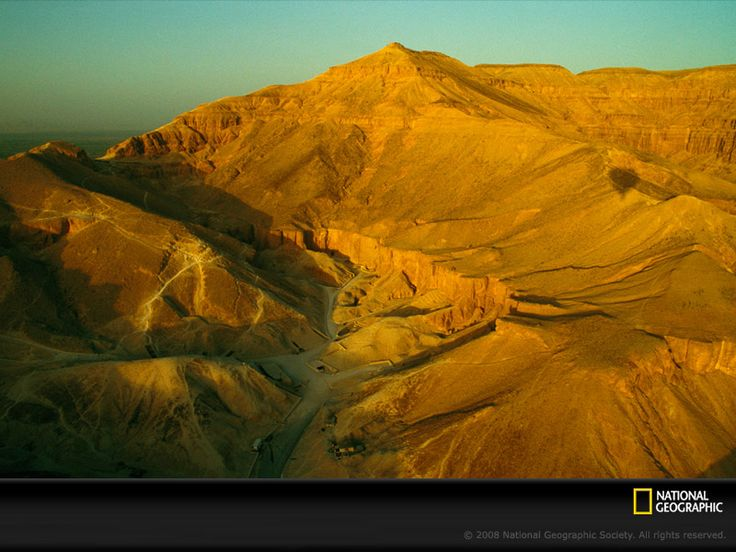 Valley of the Kings in Egypt. Built to baffle tomb raiders.