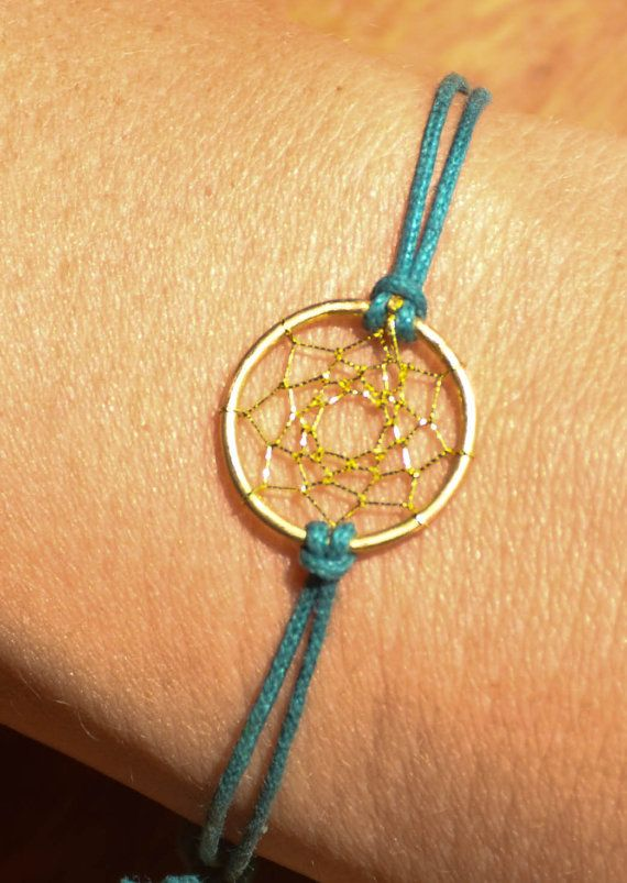 DreamCatcher Bracelet GREEN Minimalist Native by DreamCatcherLab